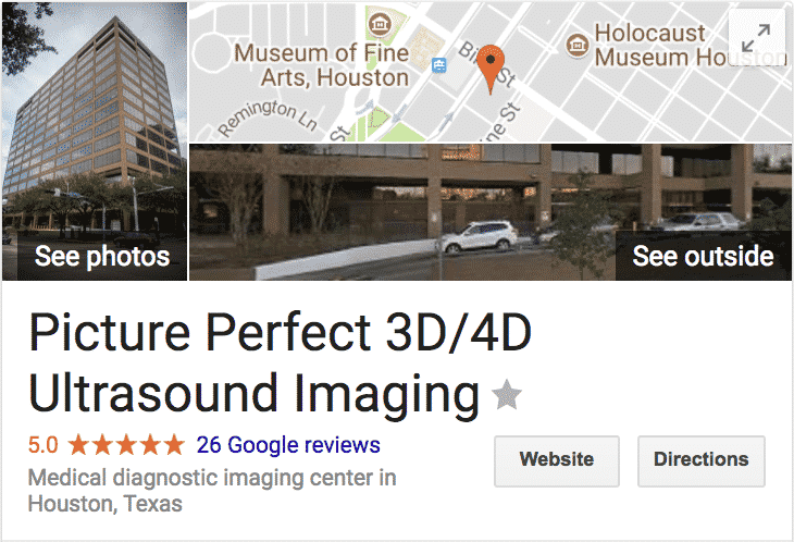 Picture Perfect 3D/4D Ultrasound Imaging Google Reviews